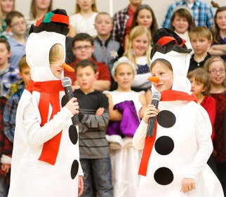 Fort Calhoun winter music concert