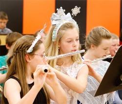 Fort Calhoun grade school winter concert