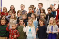 Fort Calhoun K through 3 winter concert
