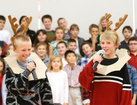 Fort Calhoun winter concert