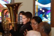 Otte Jazz band at Good Shepherd Retirement Center.