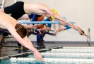 Elliot Roth, at the start of the 200 yard Freestyle.