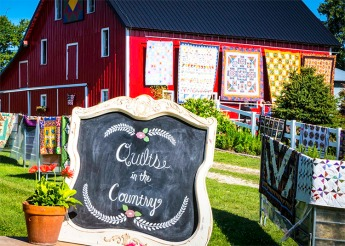 Country Quilt nd Garden show