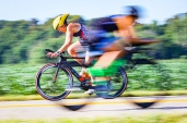 USA Triathlon 40 K bike ride included 3.5 segment in Washington County.