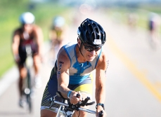 Omaha TriathlonUSA Triathlon 40 K bike ride included 3.5 segment in Washington County.