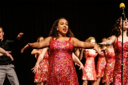 Asia Alston and Ovation Show Choir
