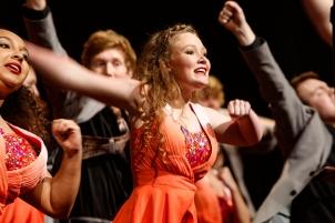 Ovation Show Choir, Blair Show Choir Workshop 2017