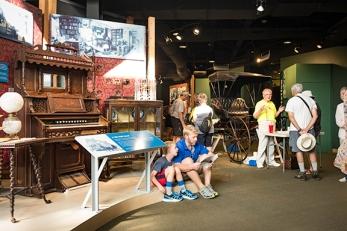 Exhibits, Heritage Center, Homestead National Monument, Beatrice, NE