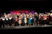 Finale of Blair High School's production of Guys and Dolls