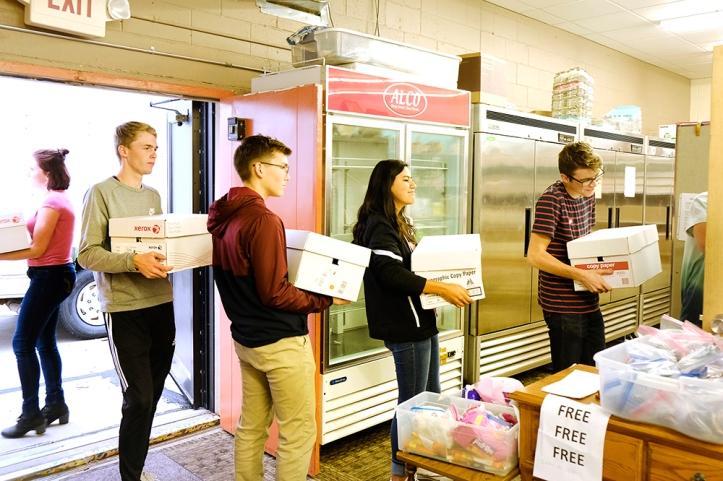 BHS Food drive