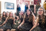 Otte Show Choir performed spread Christmas and Holiday Cheer around town Tuesday at Good Shepherd and Shepherd Village as well as Crowell Home, Carter Place, and both Washington and Twin Rivers Banks. From left: Trinity Back, Evelyn Rothanzl, Jerzie Janning, Chloe Wolff, Evie Storjohann, Ashlyn Just. From left: Trinity Back, Evelyn Rothanzl, Jerzie Janning, Chloe Wolff, Evie Storjohann, Ashlyn Just.