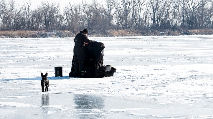 DeSoto ice fishing